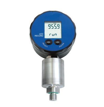 Gas Pressure Data Logger : Digital pressure gauges leo record manometer