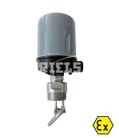 Flussostato a paletta idoneo per fluidi liquidi o fluidi - Indicatore di portata ...