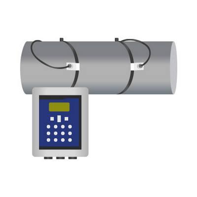 Misuratori di portata sonici - Misuratore di portata ad ultrasuoni clamp-on