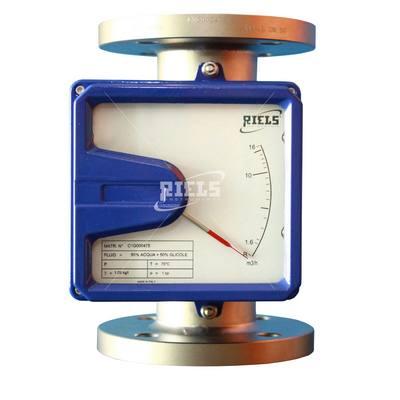 Rotametro per liquidi anche corrosivi idonei per medie e - Indicatore di portata ...