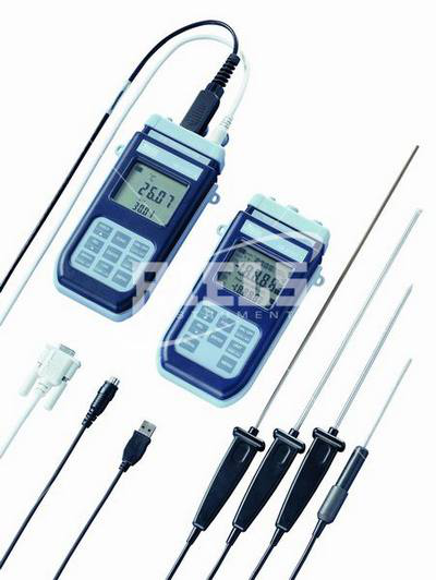 HD2128.2 Thermocouple thermometer with two inputs whit Datalogger