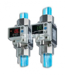PF3W Digital Flow Switches for water, demineralized water and neutral fluids.