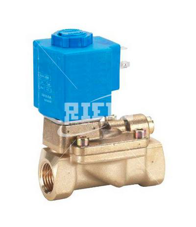 EV220B Pilot operated solenoid valves. Suitable for water, air, neutral fluids, oils.