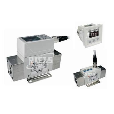 Flussostato digitale con display idoneo per aria azoto - Misuratori di portata per acqua ...