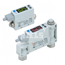 PFM Digital flow switch with display. Dry air, nitrogen, argon, carbon dioxide.