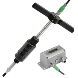 EE776 Thermal dispersion flow meter.