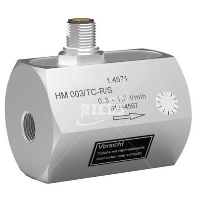 HM-TCR Turbine flow meters. Solvents, demineralized water, oils