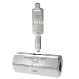 HM-R Turbine flow meters.