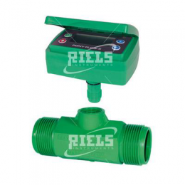 PonyFlow5 Nylon Turbine flow meters with display battery powered.