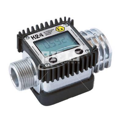 K24 ATEX Digital turbine flow meters for gasoline, diesel, kerosene. Flow rate up to 120 l/min.