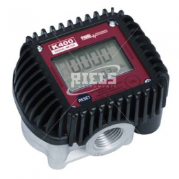 K400 Electronics flow meters oval gears.