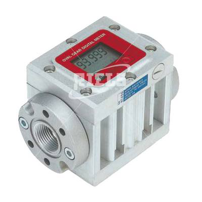 K600/4 Electronics flow meters oval gears with display. Flow rate up to 150 l/min.
