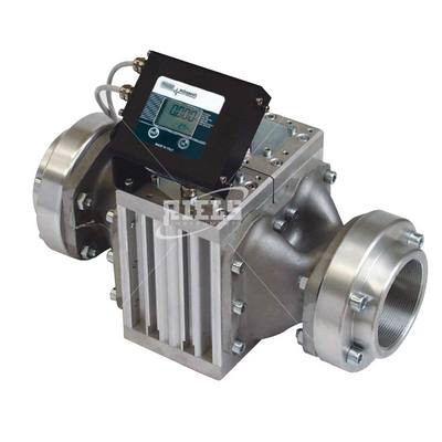 K900 Electronics flow meters oval gears with display. Flow rate up to 500 l/min.