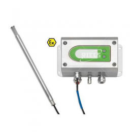 EE300Ex Humidity and temperature transmitter.