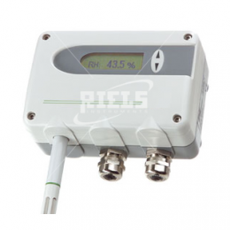EE31 Humidity transmitter for accurate measurement up to 180°C.