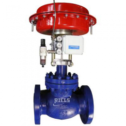 FLY Pneumatic control valves.