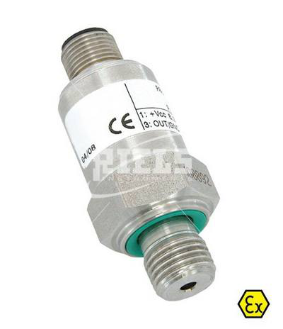 RIB23/25SYEi Pressure Transmitters Atex. For neutral fluids, food or aggressive. Accuracy ± 0,25% FS