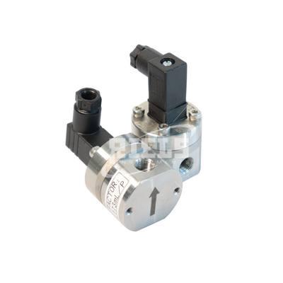 RIF400 oval gears flowmeter. For viscous liquids. Flow rates up to 100 l/min