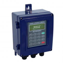 RIF600W Ultrasonic clamp-on flow meter and energy calculation in heating and cooling system