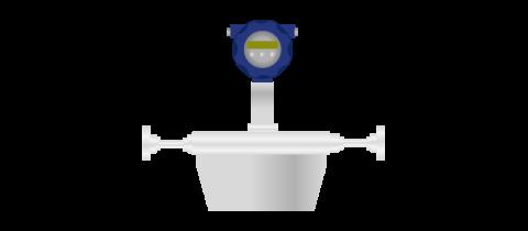 Coriolis mass flow meters